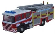 Oxford Diecast NSFE002 Scania Pump Ladder West Sussex Fire & Rescue